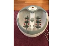 Beurer FB50 Luxury Foot Bath Spa with Water Heater - Great Condition