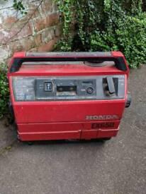 Honda 650 petrol generator