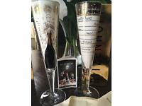 2 new ritzenhoff champagne flutes