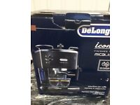DELONGHI Icona Micalite ECOM311.BK Coffee Machine – Black