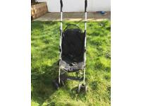 Mothercare fold up buggy & maclaren cosy toes
