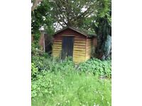 Free Old unwanted shed for firewood. Collector dismantles. Cop ford area near Colchester.