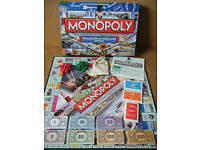 "Monopoly ""WEYMOUTH & PORTLAND EDITION"". Hasbro 2012. Excellent condition."