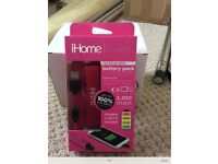 iHome rechargeable battery pack