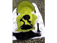 Buggy Replacement Seat, & Hood Cover