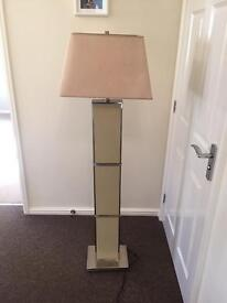 Tall lamp & 2 side table lamps