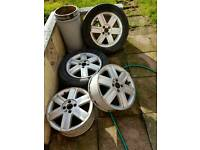 renault Scenic 16ins alloy wheels