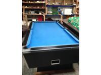 Pool table7z4 slate bed