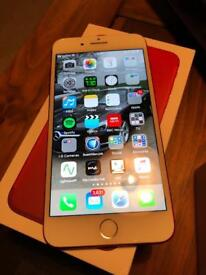 (SOLD) iPhone 7 Plus 128gb in product red. 4 months old