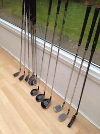 Golf Clubs unused and bag