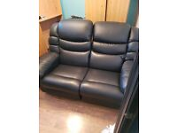 2 seater leather Lazy Boy sofa