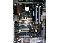 RoG commando motherboard + extras