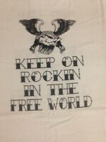 """T-Shirt """"Keep on Rocking in the Free World"""""""