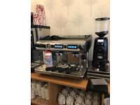 Expobar Coffee machine and grinder