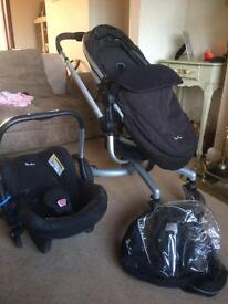 Silver Cross Surf travel system & Car Seat