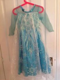 Disney Elsa dress age 4-5 years