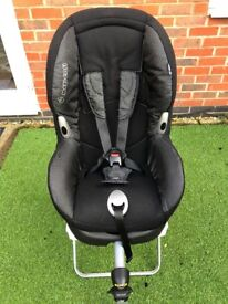 Maxi-Cosi PrioriFix Group 1 Toddler 9-18 kg Isofix Car Seat Black Very Good Condition