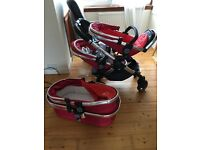 iCandy Peach Twin Buggy