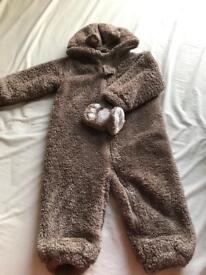 12 to 18 months baby snow suit from next