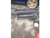 Seat Leon 03 1.8t cupra front pannel with brand new rads