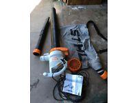 Shihl she 71 electric blower/ vacuum shredder