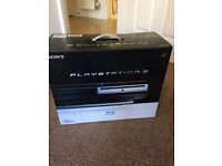 Sony PS3 CONSOLE (60GB) WITH FOUR CONTROLLERS