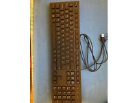 Dell Multimedia Keyboard-KB216t - UK (QWERTY) - Black