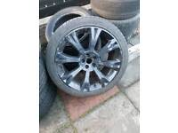 "20"" Alloy wheels"