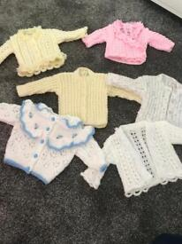 Baby knitted cardigans