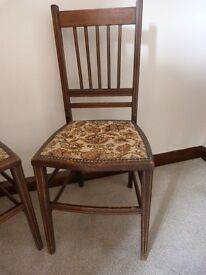 Pair of Late Victorian Occasional Chairs.