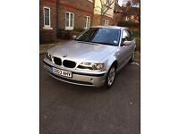 2003 BMW 318i for sale; clean inside/out; super comfortable; great value (with BRAND NEW BATTERY!)