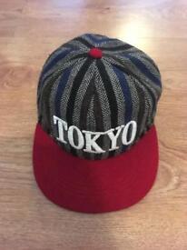 Tokyo five stripe hat vgc