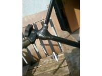 Fox evolution rod pod, fully adjustable and fully functional, NO damage
