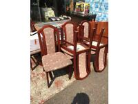 Dinning table and 6 chairs £75ono