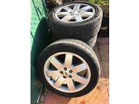 Range Rover 20 inch alloys 5x120 fits vw transporter