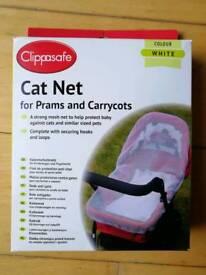 Pram and carrycot cat net. Brand New.