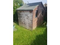 Garden shed free to anyone who can dismantle and take away