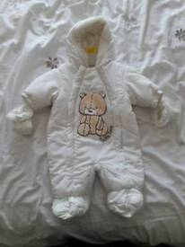 Baby snow suit newborn