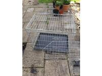 Dog crate and car boot gate