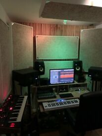 Soundproofed Music Recording studio North London / 3 days a week £350