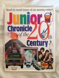 Junior Chronicle of the 20th Century - Hardback