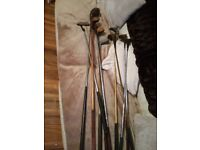 Old golf clubs £20