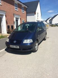 VW Sharan 7 Seater