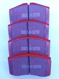 EBC Red Stuff Ceramic Pads For Porsche 911 3.6 Turbo GT2 4, DP3997C 88/97
