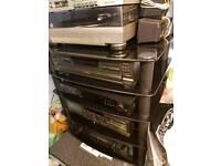 Technics sl pd 687 5 disk cd player