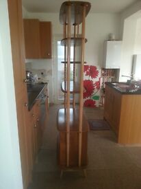 ERCOL Bookcase/Abstract Stand