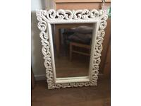 Cream Decorative Mirror