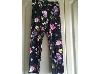 M&S floral trousers