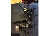 Sony PlayStation 2 Black Console (SCPH-50003) [tested & works]