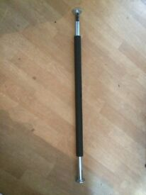 Adjustable pull-up bar from 70cm to 95cm